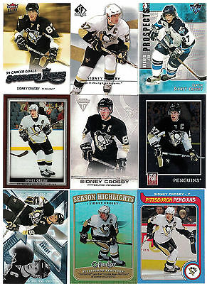 NHL Tradingcard Lot – Sidney Crosby – Pittsburgh Penguins – 20 Cards