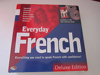 Everyday French Deluxe Edition (2 CDs & AA Essential Phrase Book) new unused