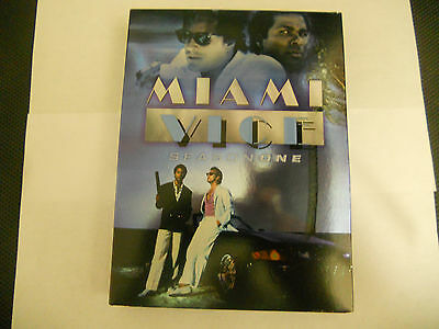 Miami Vice - Season 1 (DVD, 2005, 3-Disc Set) LIKE NEW
