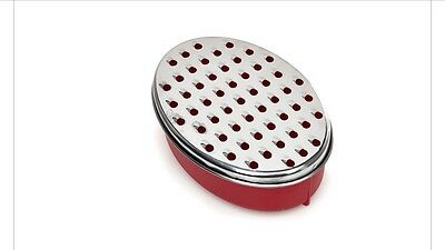 New Stainless Steel Cheese Grater With Container To Store Cheese