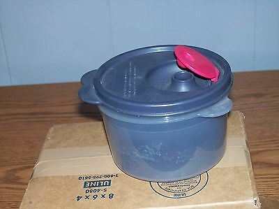 Tupperware Crystalwave Soup Mug Vented Microwavable # 3155A-4  with Lid