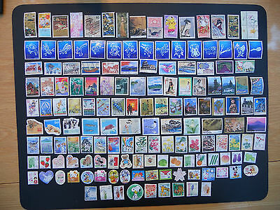 Japan stamps. 150 different pictorials used off paper includes prefectures. 159