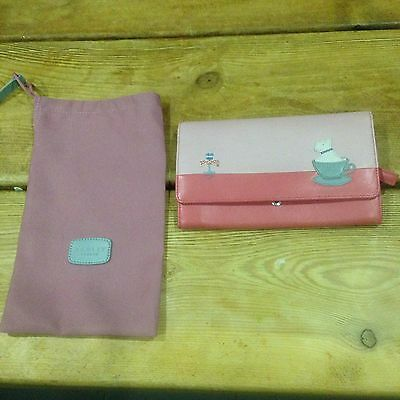 Radley Pink Large Flap over Purse BRAND NEW