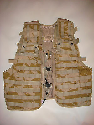 British Army - Vest Tactical Load Carrying - Molle Assault  - Desert DPM - New