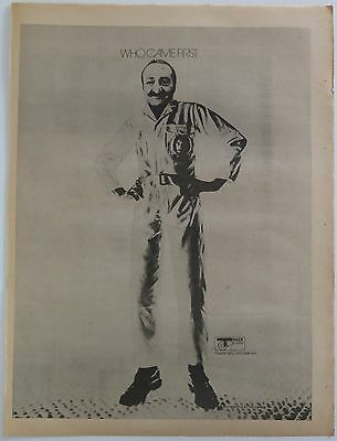 "Pete Townshend ""Who came first"" 1972 UK full-page ad Meher Baba + Bonus"