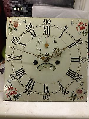 12 Inch Painted Dial Longcase Clock Movement