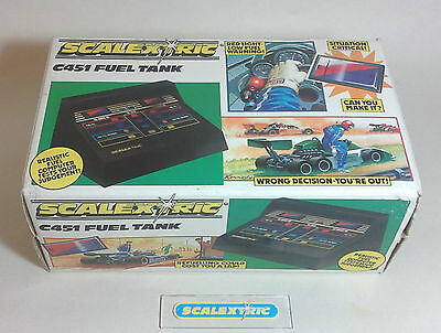 Scalextric Vintage FUEL TANK C451 (BOXED with INSTRUCTIONS) NR MINT EARLY 1980's