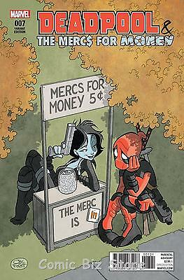 Deadpool And Mercs For Money #7 (2017) Scarce 1:25 Fosgitt Variant Cover Ivx