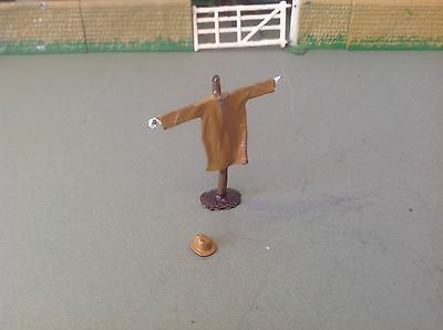 Britains Vintage Scarecrow with Bowler Lead Farm Toy