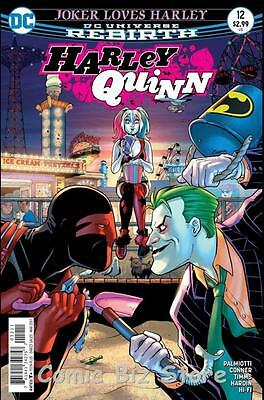 Harley Quinn #12 (2017) 1St Printing Bagged & Boarded Dc Universe Rebirth