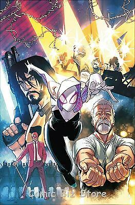 Spider-Gwen #16 (2017) 1St Printing Marquez The Story Thus Far Variant Cover