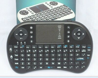 Mini Wireless Air Keyboard Mouse Qwerty Remote Touchpad XBMC Android TV BOX PC