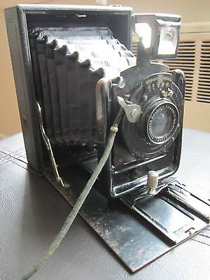 Ernemann Heag 1, Folding Bed Plate Camera, Circa 1914