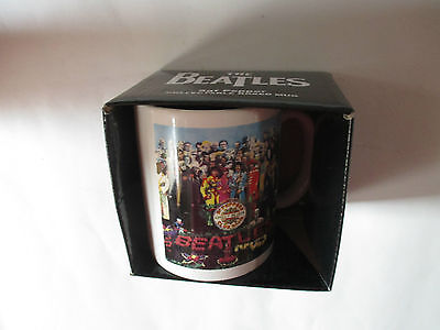 The Beatles Sgt Pepper Collectable Boxed Mug, New.