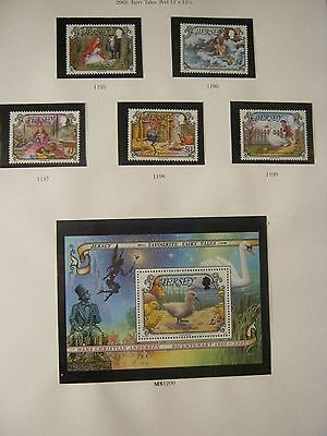 Jersey Perfect Unmounted Mint 2005 Fairy Tales Face £4