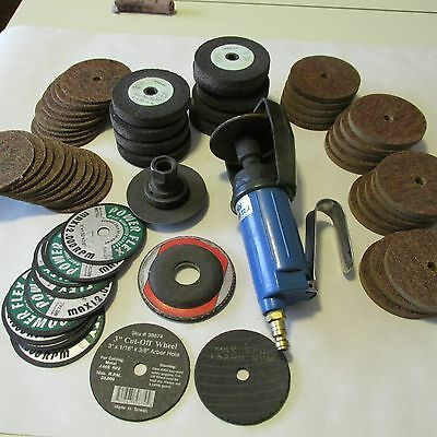 """3"""" Cut Off Tool And Assorted 3"""" Discs"""