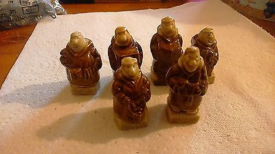 Collection Of Six Wade Monk Whimsies
