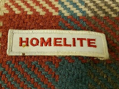 Homelite Racing Overalls Clothing Patch