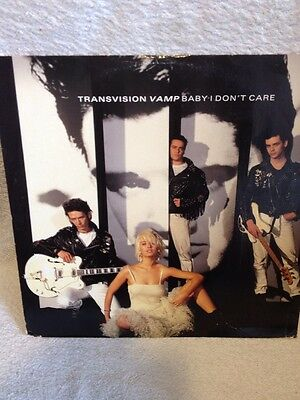 "Transvision Vamp, Baby I Don't Care,(TVVT 6),1989,12"" Single"