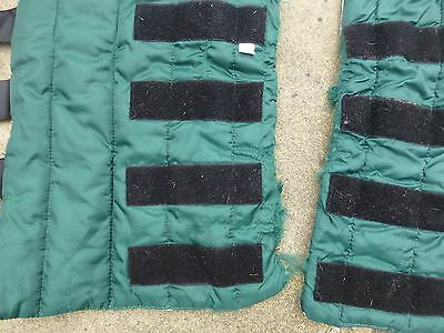 Pony Size Travel Boots Green