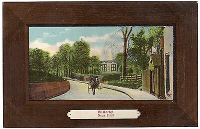 Postcard Horse & Carriage Willerby Hull Yorkshire