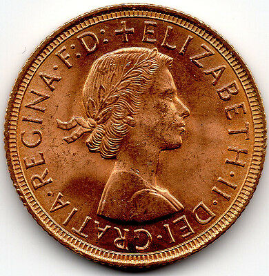 1958 Full Gold Sovereign BRILLIANT UNCIRCULATED - PRICED TO SELL