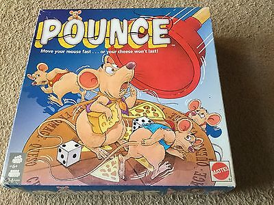 Vintage Pounce Mice Mouse Game 100% Complete with Instructions Rare Mattel