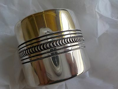 Classic Sterling HM Napkin Ring~HB~Mexico?