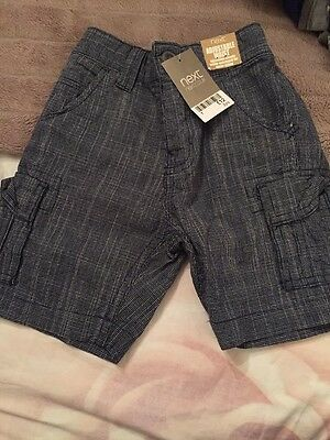 Next Boys Shorts Age 3 Years New With Tag