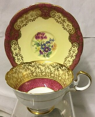 Gorgeous Aynsley Cabinet Cup & Saucer