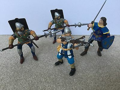 Knights Bundle 4 Figures Archers Soliders