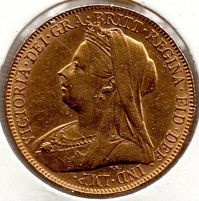 1899 Full Gold Sovereign Queen Victoria  HIGH GRADE Priced To Sell
