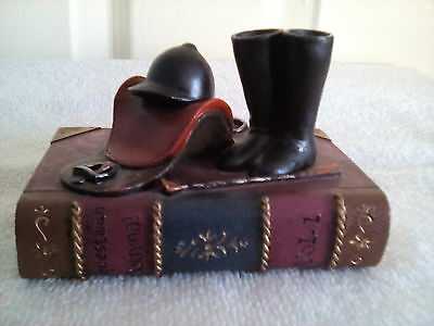 """** Very Unusual Decorative Book Ornament For The """" Horse Lover """" **"""