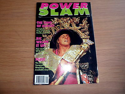 POWER SLAM wrestling magazine ISSUE 1 - rare