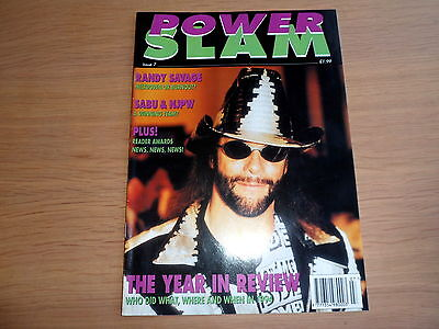 POWER SLAM wrestling magazine ISSUE 7 - rare
