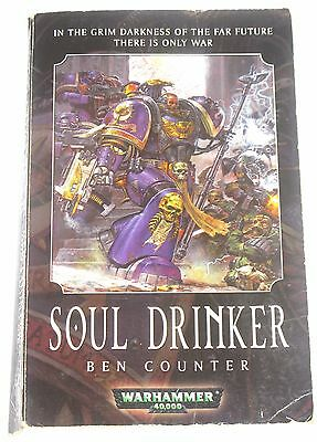 Soul drinker by Ben Counter Warhammer Black Library