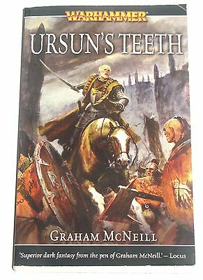 Ursun Teeth's by Graham McNeil Warhammer Black Library