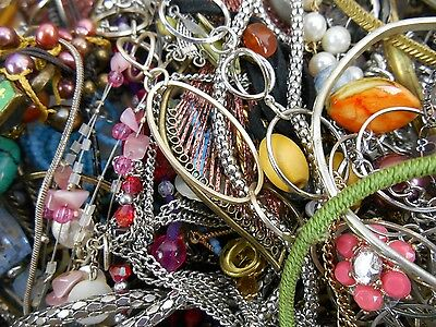 20lbs Jewelry Vintage New Antique to Wear or Repair Mixed Lot