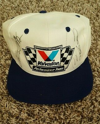 Autographed Rusty Wallace & Bobby Labonte Hat