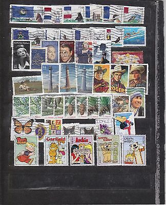 USA 48 Different  Used 2010 stamps