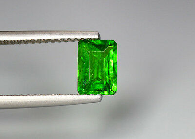 0.99 Cts_Glittering Top Luster_100 % Natural Vivid Green Chrome Diopside_Russia