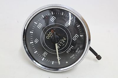 JAEGER Vintage Replacement Speedometer For Triumph TR2 TR3 TR3A TR4 S/N 6319/00