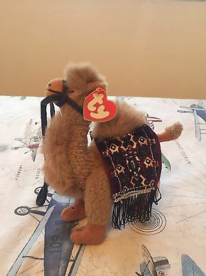 TY Beanie Babies Official Lawrence Camel - VERY RARE, COLLECTORS ITEM