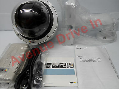 Axis Q6034 18x PTZ Indoor Dome Network IP PoE Security Camera