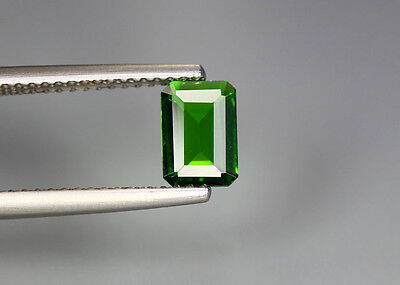 0.64 Cts_Glittering Top Luster_100 % Natural Vivid Green Chrome Diopside_Russia