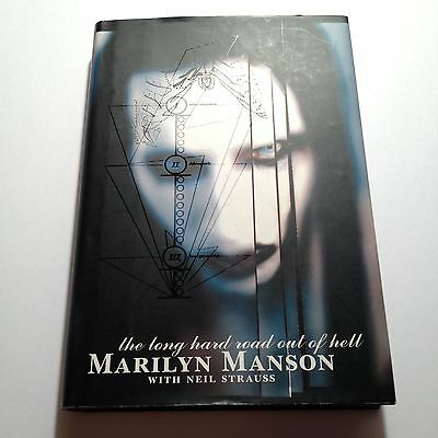 Hardcover Marilyn Manson The Long Hard Road Out of Hell First 1st Edition