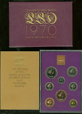 Great Britain 1970 Proof  As Issued