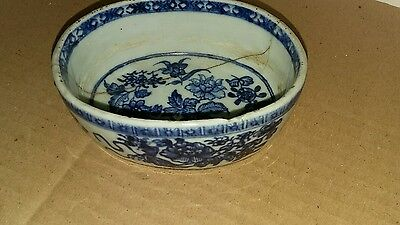 Great chinese 18th 19th c pottery bowl small