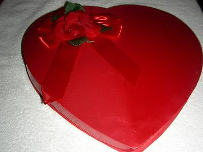 vintage valentines day candy box