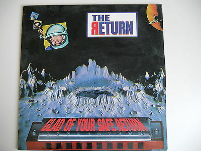 "ITALO HOUSE : THE RETURN Glad of your safe return Maxis.12"" Italy DANCE POOL NEW"